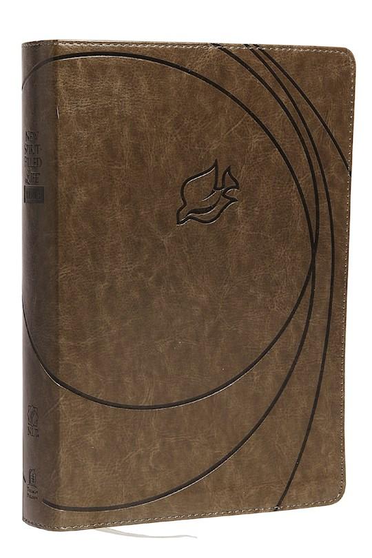 NLT New Spirit-Filled Life Bible-Rich Stone Leathersoft | SHOPtheWORD