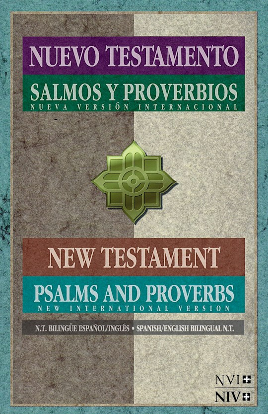 NVI/NIV Spanish-English New Testament w/Psalms & Proverbs-Softcover | SHOPtheWORD