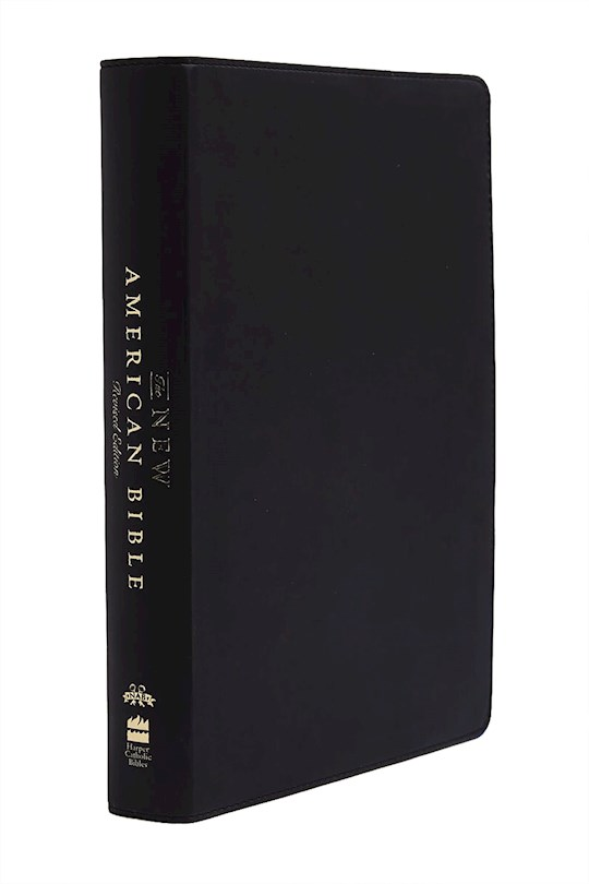 NABRE New American Bible (Revised Edition)-Black LeatherLike | SHOPtheWORD