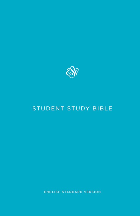 ESV Student Study Bible-Blue Hardcover | SHOPtheWORD