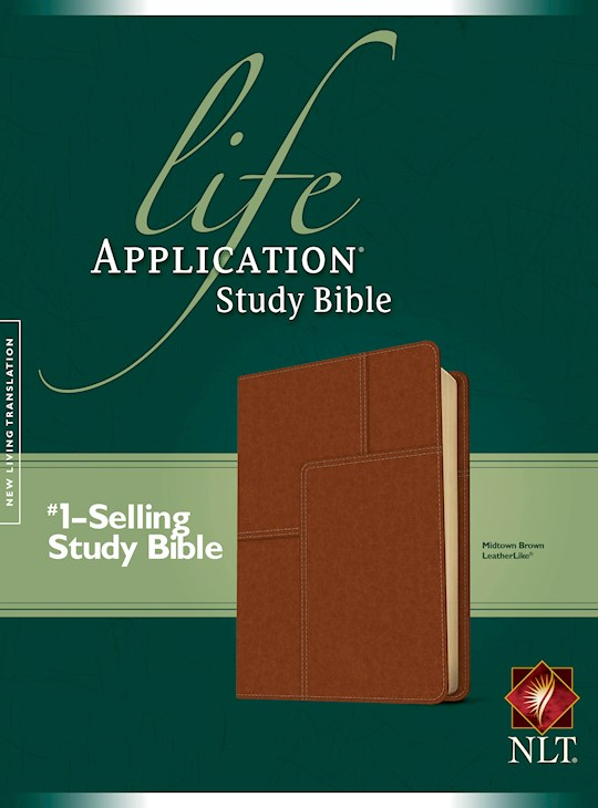 NLT Life Application Study Bible (Second Edition)-Midtown Brown LeatherLike | SHOPtheWORD