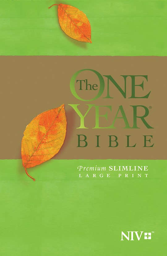 NIV One Year Bible Premium Slimline/Large Print-Softcover | SHOPtheWORD