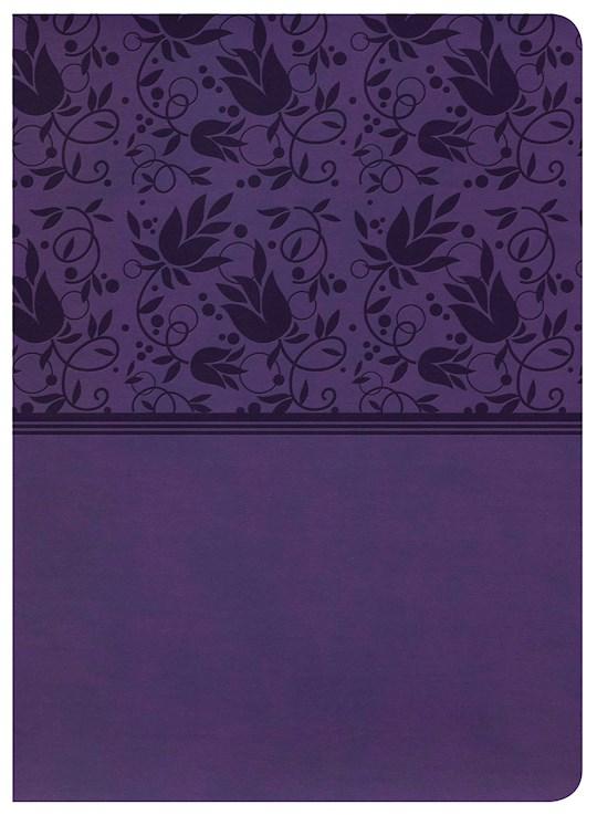 KJV Study Bible (Full-Color)-Purple LeatherTouch  | SHOPtheWORD