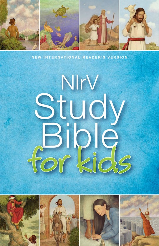 NIrV Study Bible For Kids (Updated)-Hardcover | SHOPtheWORD