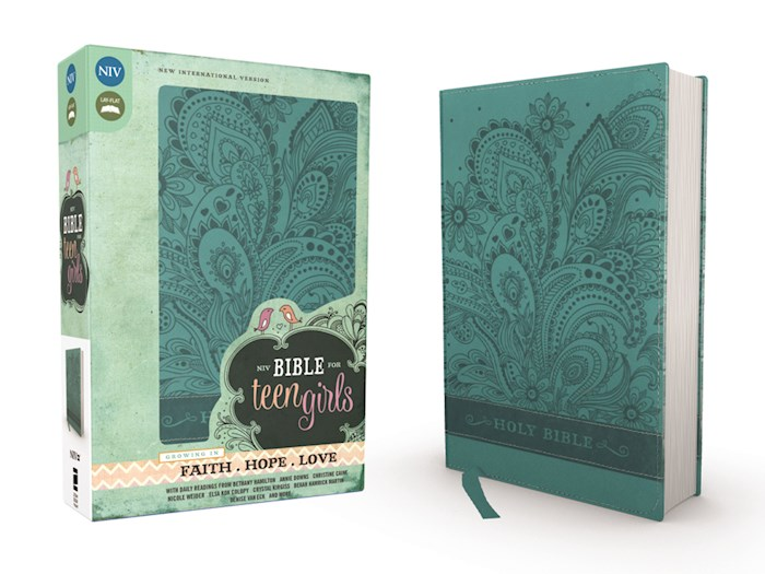 NIV Bible For Teen Girls-Caribbean Blue Duo-Tone  | SHOPtheWORD