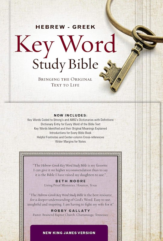 NKJV Hebrew-Greek Key Word Study-Hardcover | SHOPtheWORD