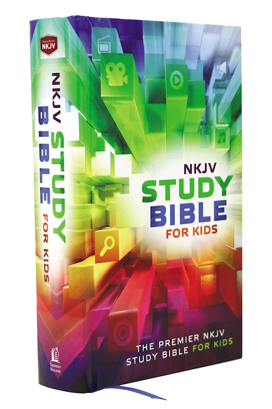 NKJV Study Bible For Kids-Hardcover | SHOPtheWORD