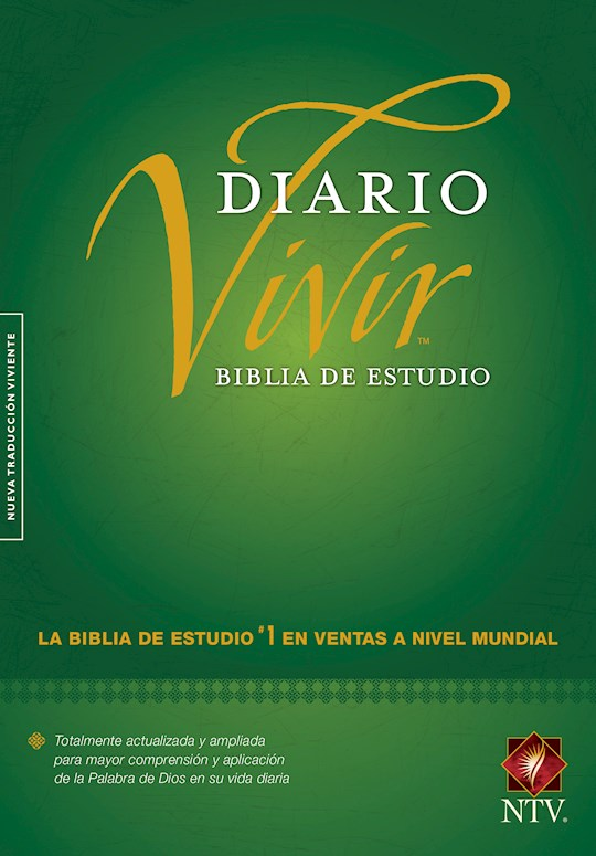 Span-NTV Life Application Study Bible (Biblia De Estudio Del Diario Vivir)-Green Hardcover | SHOPtheWORD