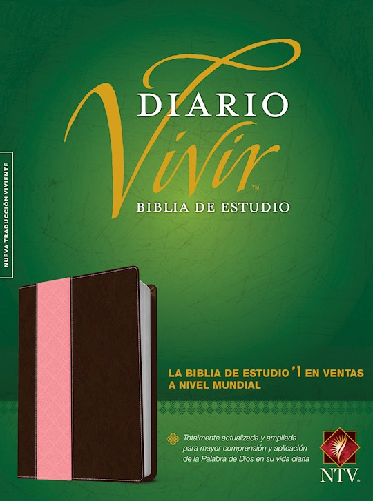 Span-NTV Life Application Study Bible (Biblia De Estudio Del Diario Vivir)-Pink/Brown TuTone | SHOPtheWORD