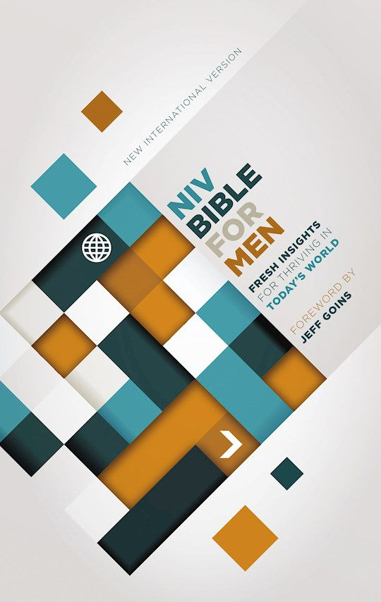 NIV Devotional Bible For Men-Hardcover | SHOPtheWORD
