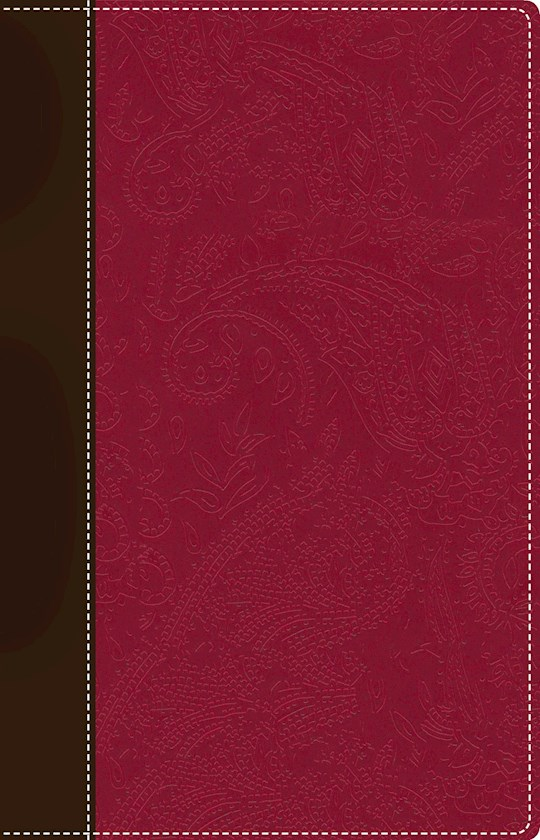NIV Devotional Bible For Women-Chocolate/Berry Duo-Tone (Not Available-Out Of Print) | SHOPtheWORD
