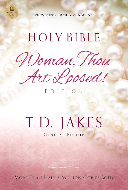 NKJV Woman Thou Art Loosed Bible-Softcover   SHOPtheWORD