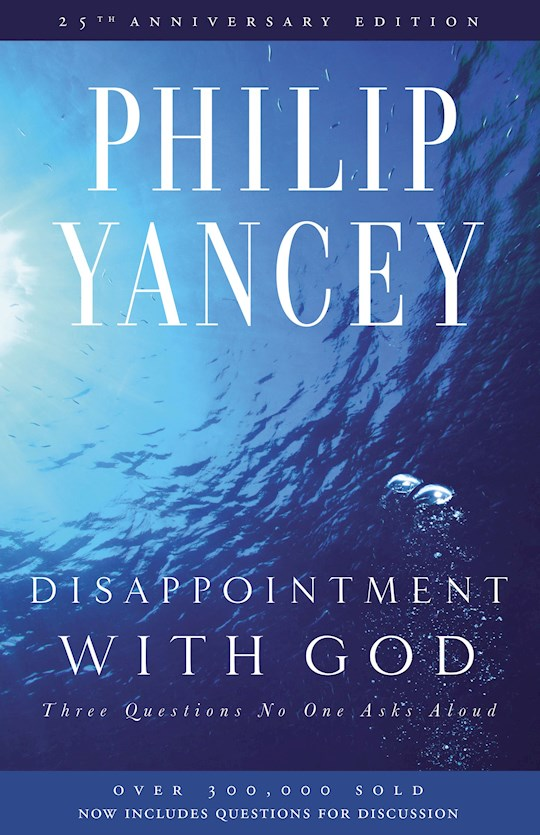Disappointment With God (Repack) by Philip Yancey   SHOPtheWORD