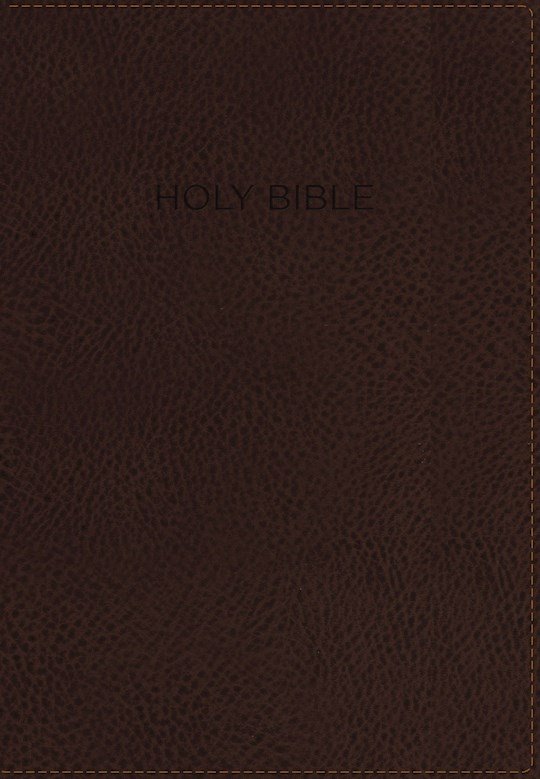 NIV Foundation Study Bible-Earth Brown Duo-Tone Indexed | SHOPtheWORD
