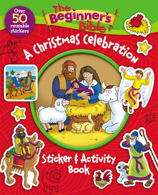The Beginner's Bible: A Christmas Celebration Sticker And Activity Book by Bible Beginner's   SHOPtheWORD