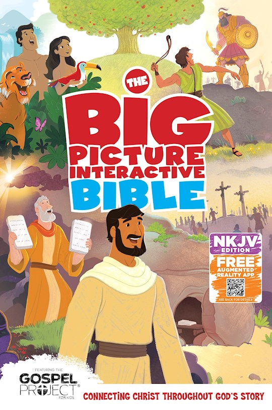 NKJV Big Picture Interactive Bible-Hardcover | SHOPtheWORD