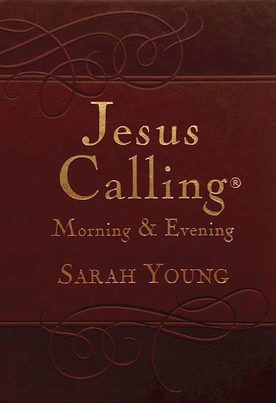 Jesus Calling Morning & Evening Devotional-Leathersoft by Sarah Young | SHOPtheWORD