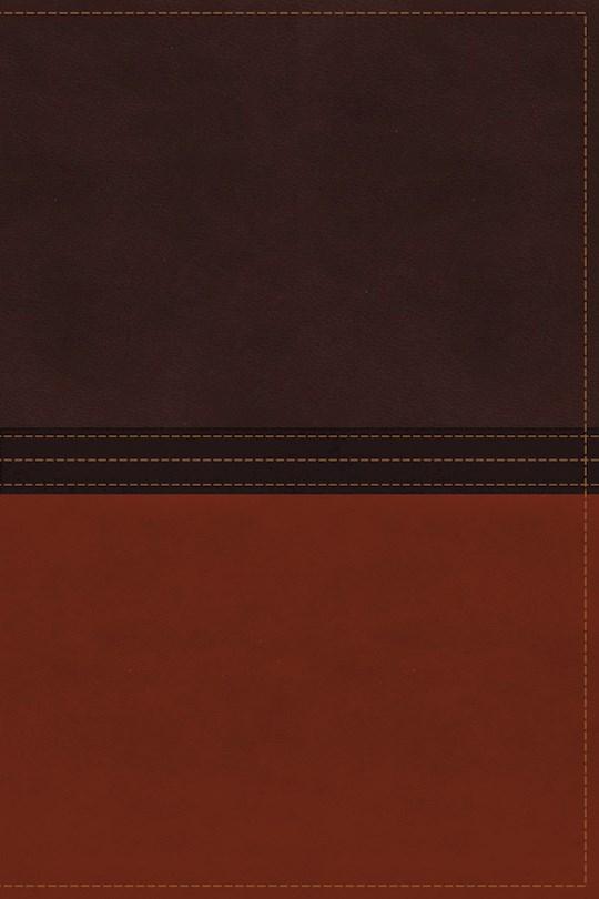 NASB MacArthur Study Bible-Earth Brown/Burnt Orange LeatherSoft Indexed  | SHOPtheWORD