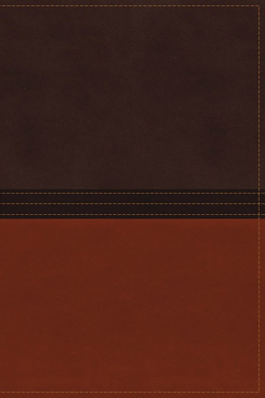 NASB MacArthur Study Bible-Earth Brown/Burnt Orange LeatherSoft  | SHOPtheWORD