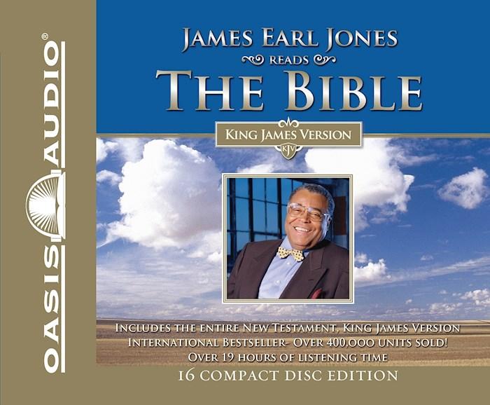 Audio CD-KJV James Earl Jones Reads The New Testament (14 CD) | SHOPtheWORD