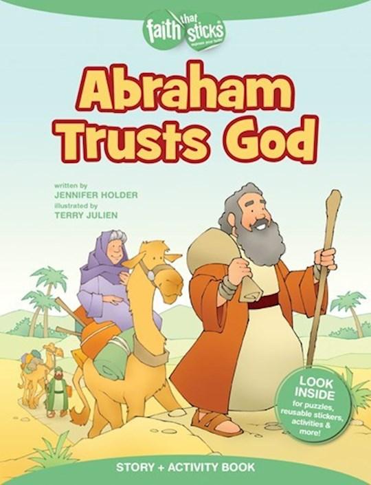 Abraham Trusts God Activity Book (Faith That Sticks) by Jennifer Holder | SHOPtheWORD