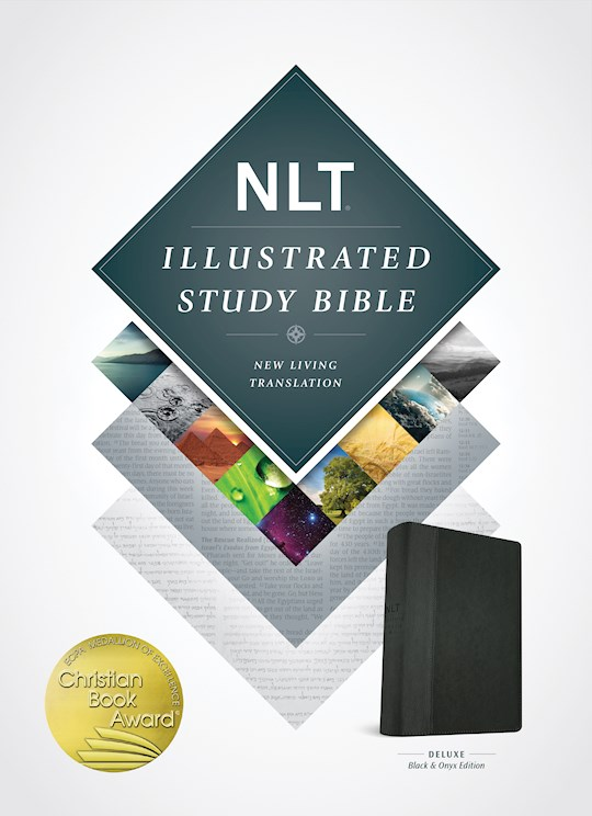 NLT Illustrated Study Bible-Black/Onyx TuTone | SHOPtheWORD