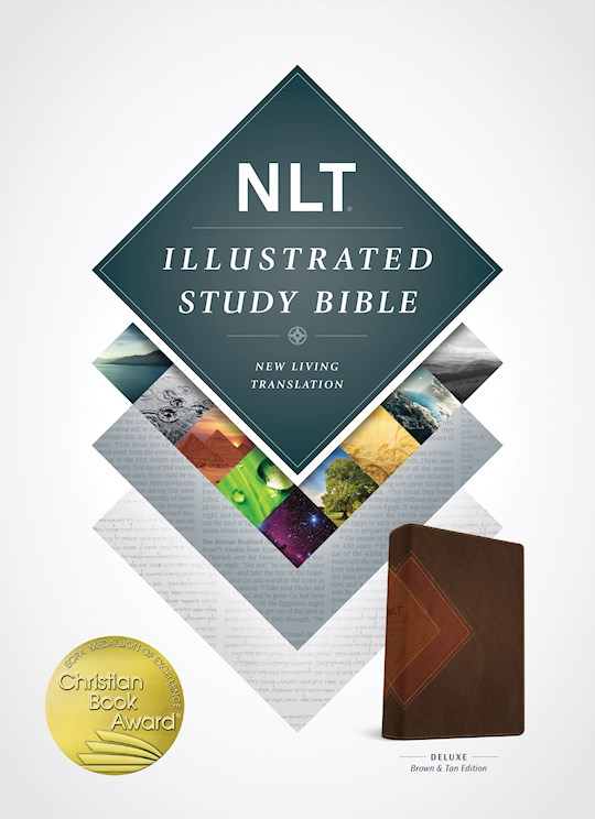 NLT Illustrated Study Bible-Brown/Tan TuTone | SHOPtheWORD