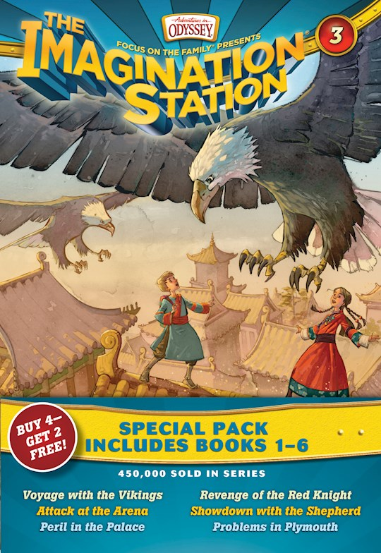 Imagination Station Boxed Set: Books 1-6 (AIO) by Paul McCusker   SHOPtheWORD