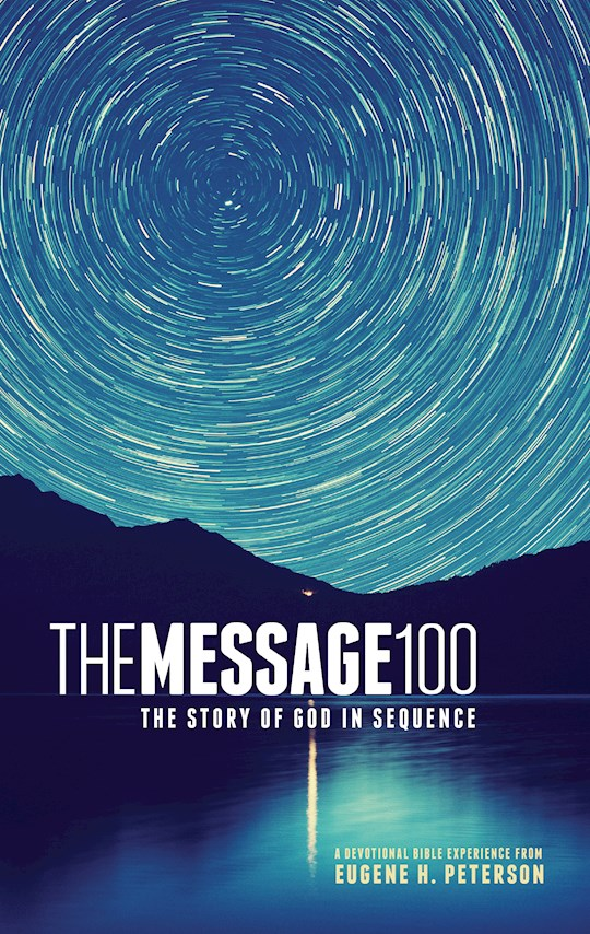 The Message 100 Devotional Bible-Hardcover | SHOPtheWORD