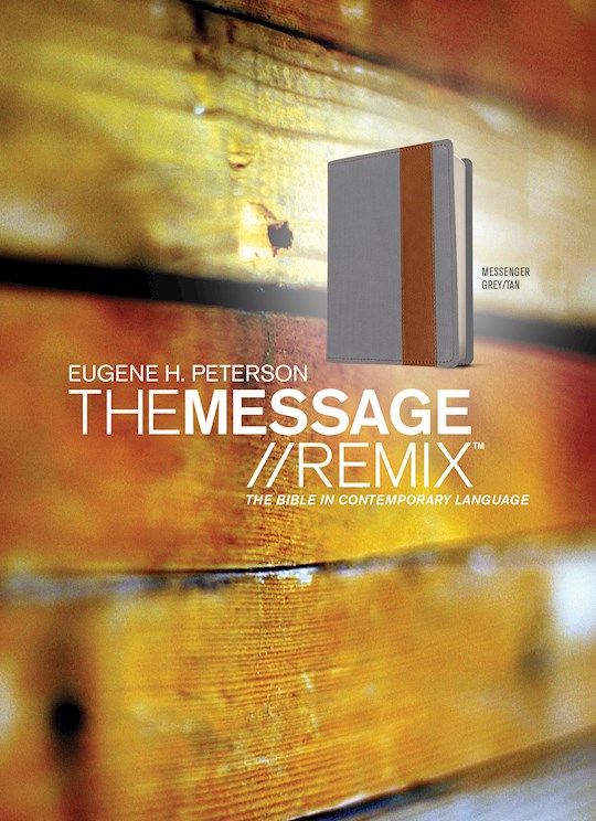 The Message Remix 2.0 (Numbered Edition) Grey/Tan Imitation Leather-Look | SHOPtheWORD