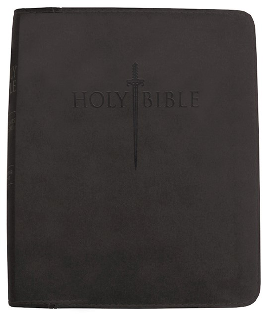 KJVER Thinline Bible/Personal Size-Black Ultrasoft | SHOPtheWORD