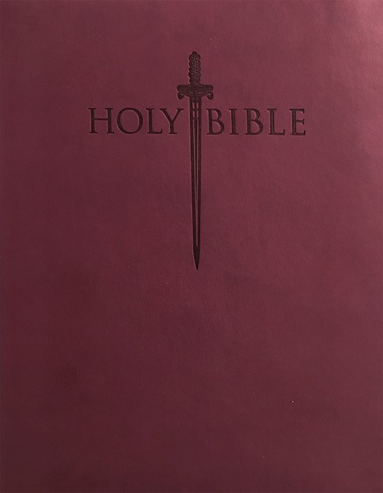 KJVER Thinline Bible/Personal Size-Burgundy Ultrasoft Indexed | SHOPtheWORD