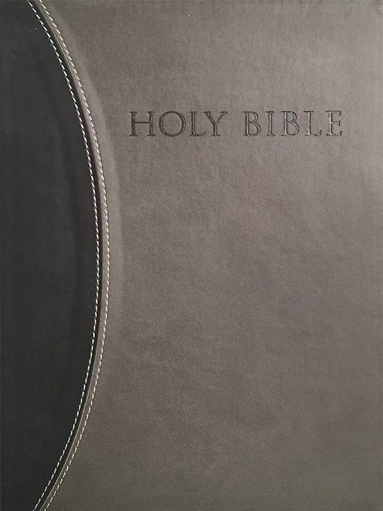 KJV Sword Study Bible/Giant Print-Black/Grey Ultrasoft Indexed  | SHOPtheWORD