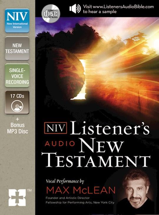 Audio CD-NIV Listeners Audio New Testament (16 CD)  | SHOPtheWORD