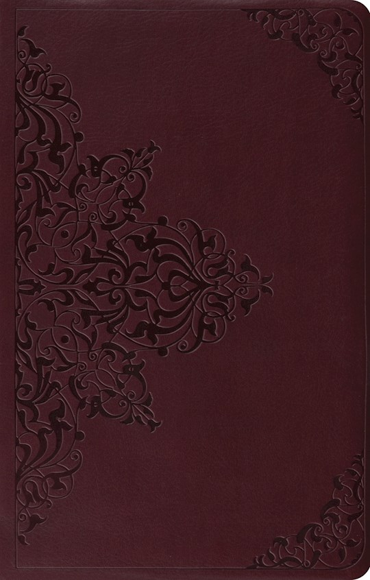 ESV Premium Gift Bible-Chestnut Filigree Design TruTone | SHOPtheWORD