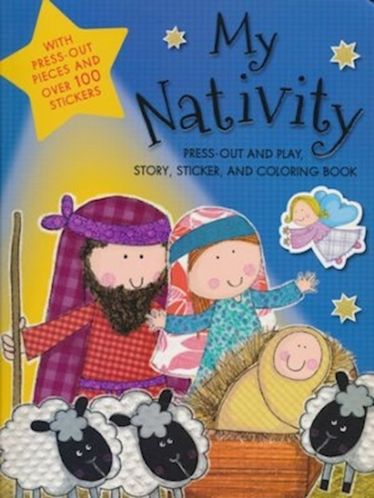 My Nativity Activity Book by Believe Ideas Make | SHOPtheWORD