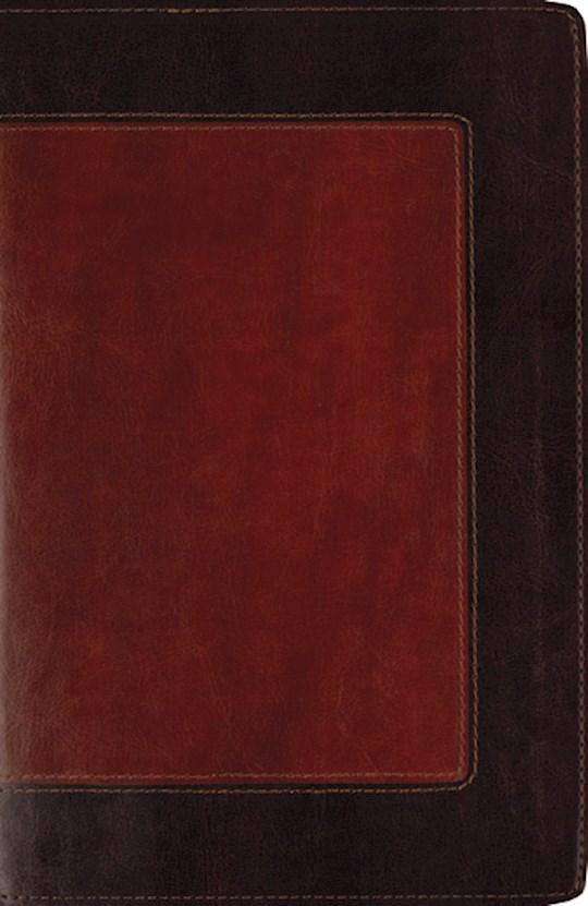 Span-RVR 1960 Maxwell Leadership Bible-Brown/Brown LeatherSoft | SHOPtheWORD