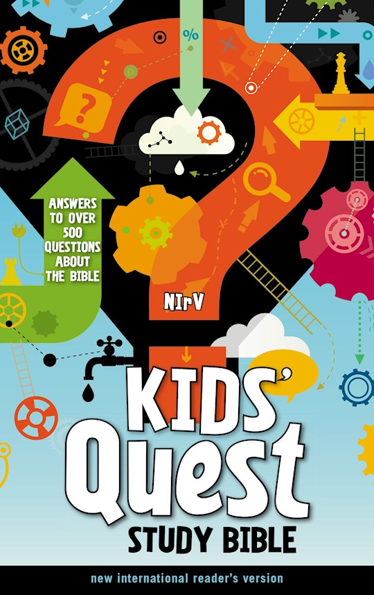 NIrV Kids' Quest Study Bible (Updated)-Printed Hardcover | SHOPtheWORD