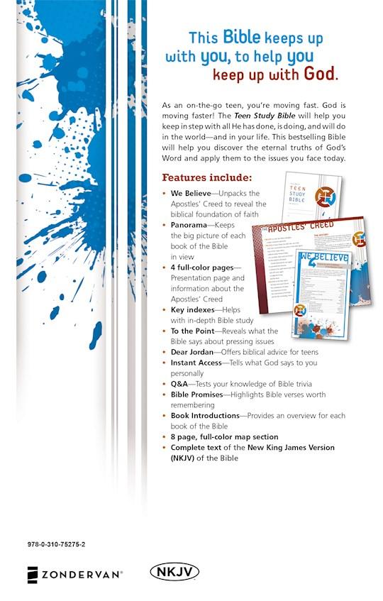 NKJV Teen Study Bible-Hardcover | SHOPtheWORD
