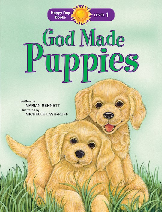 God Made Puppies (Happy Day Books) by Marian Bennett   SHOPtheWORD