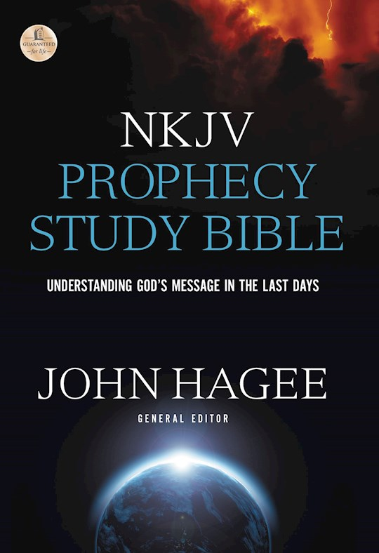 NKJV Hagee Prophecy Study Bible-Hardcover  | SHOPtheWORD