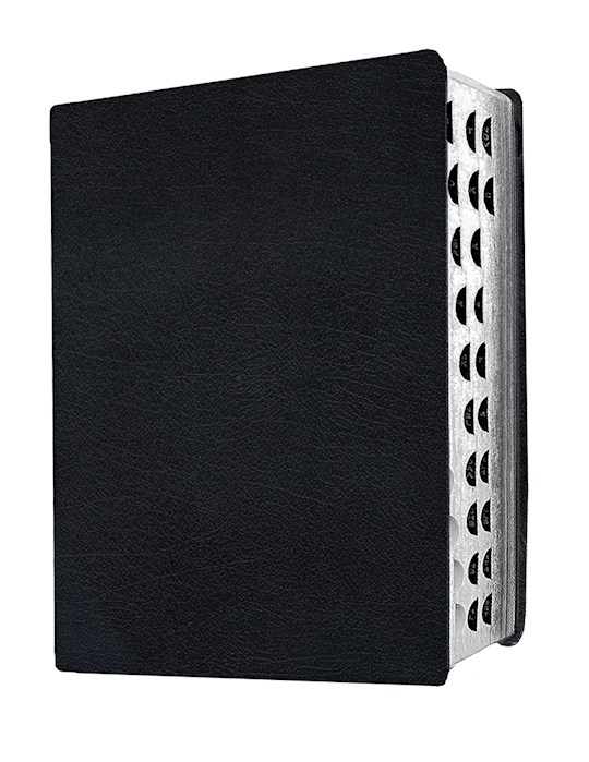 MEV Giant Print Bible-Black LeatherLike Indexed (Not Available-Out Of Stock Indefinitely) | SHOPtheWORD