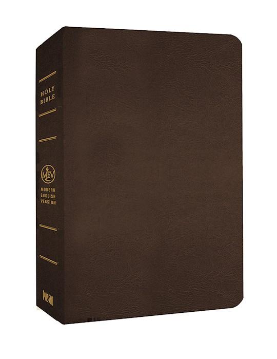 MEV Giant Print Bible-Brown LeatherLike | SHOPtheWORD