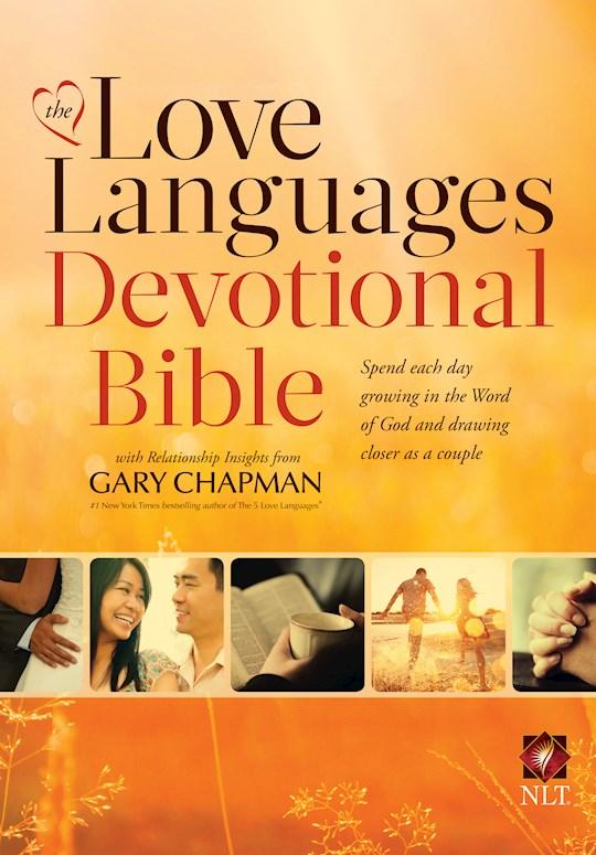 NLT Love Languages Devotional Bible-Hardcover | SHOPtheWORD