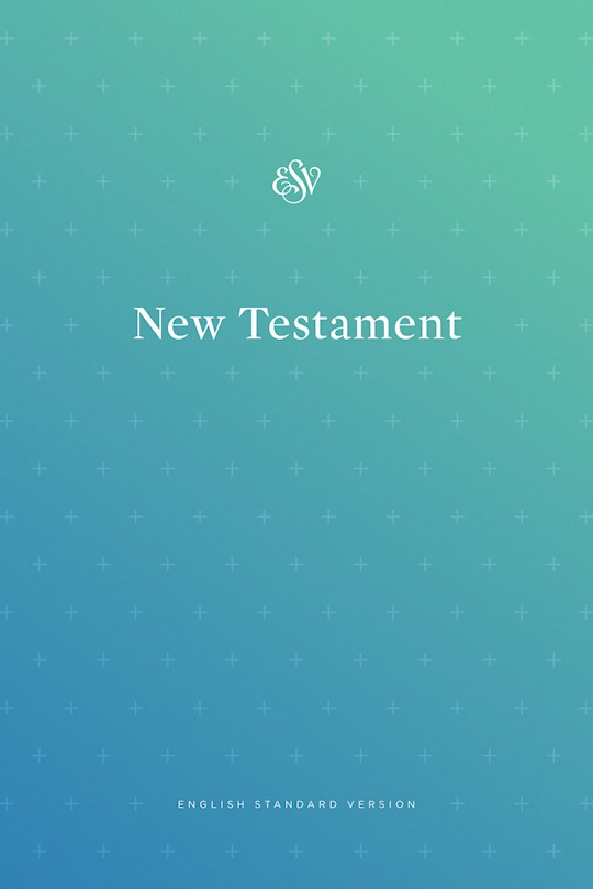 ESV Outreach New Testament-Blue Softcover | SHOPtheWORD