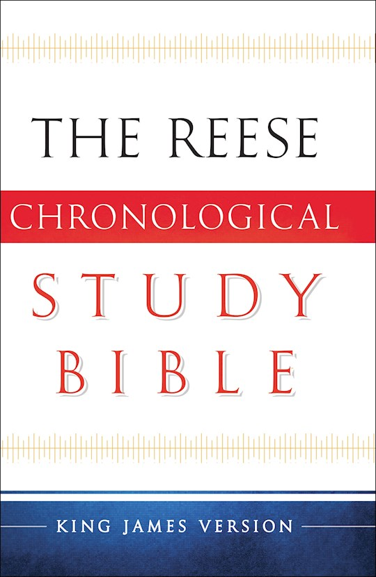 KJV Reese Chronological Study Bible-Hardcover (Redesigned)    SHOPtheWORD