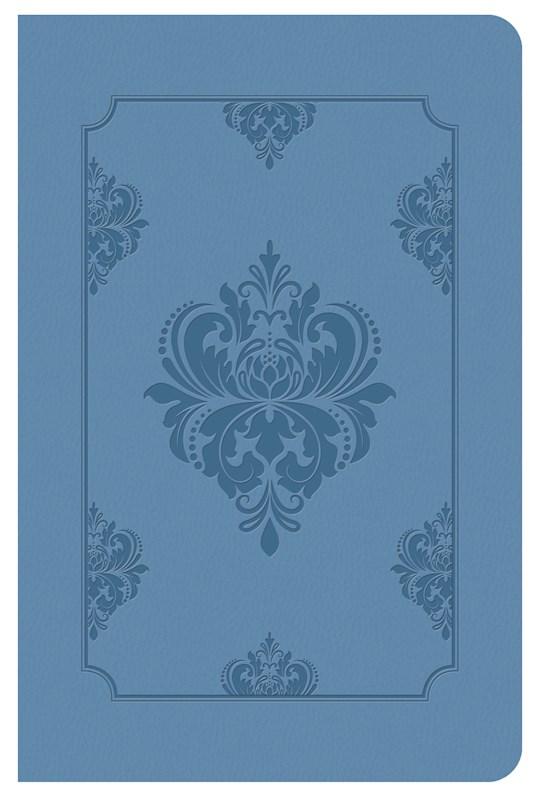 KJV Deluxe Gift & Award Bible-Light Blue DiCarta | SHOPtheWORD