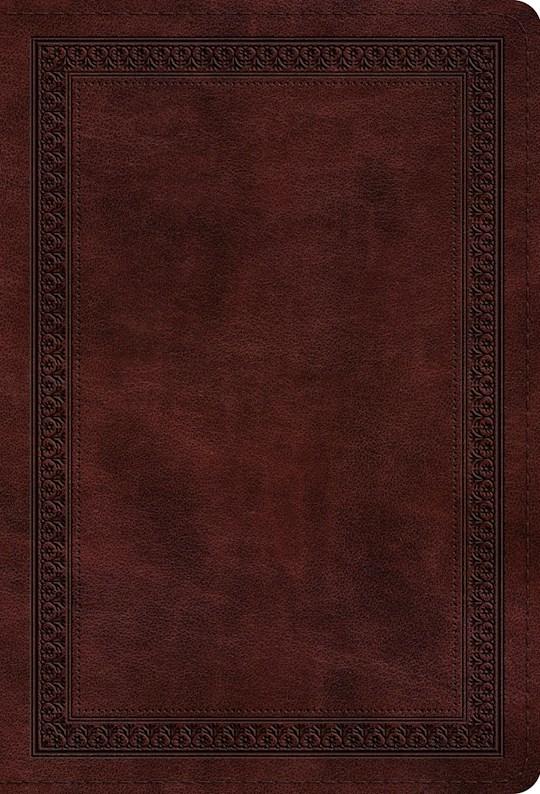 ESV Value Compact Bible-Mahogany Border Design TruTone | SHOPtheWORD