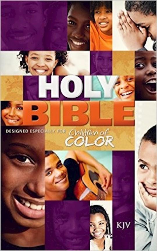 KJV Children Of Color Bible-Hardcover | SHOPtheWORD