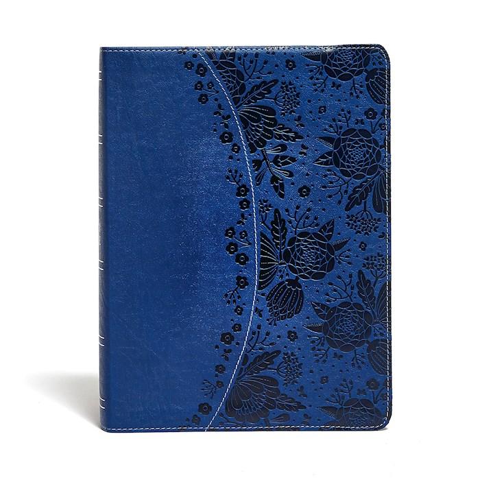 KJV Study Bible (Full-Color)-Indigo LeatherTouch | SHOPtheWORD